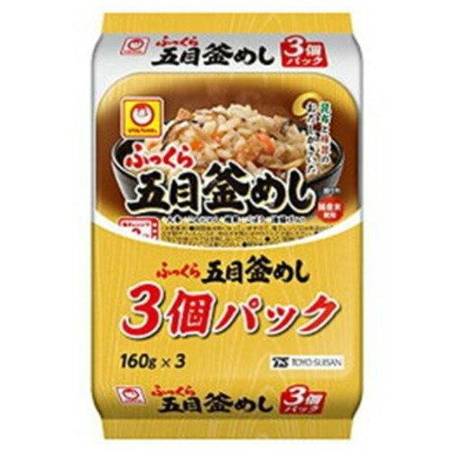 東洋水産 パックごはん 24食 ふっくら五目釜めし(3食)× 8個 東洋水産 米加工品 包装米飯