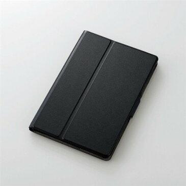 エレコム TB-A19SWVFUBK iPad mini 2019年モデル/iPad mini 4用フラップカバー ソフトレザー 2アングル 薄型 ブラック