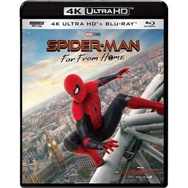 【ポイント10倍!1月16日(木)1:59まで】【4K ULTRA HD】スパイダーマン:ファー・フロム・ホーム(初回生産限定版)(4K ULTRA HD+ブルーレイ)