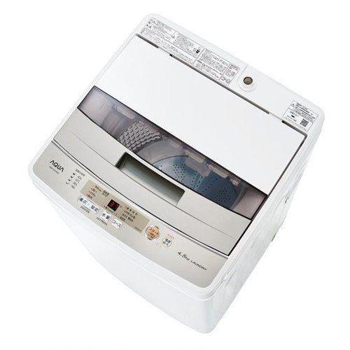 生活家電, 洗濯機 AQUA AQW-S45HW (4.5kg)