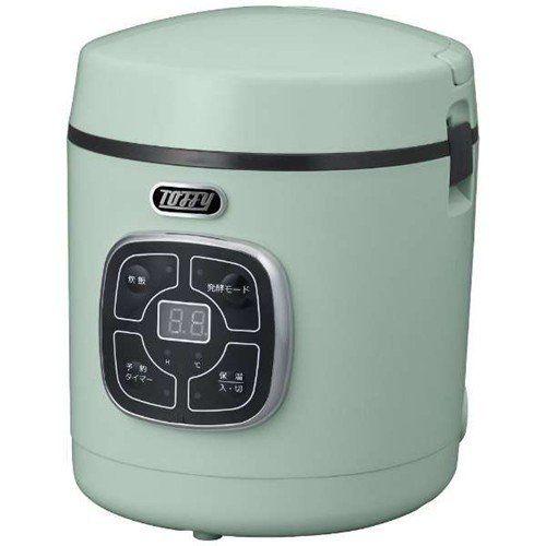 炊飯器 ラドンナ K-RC2-PA Toffy マイコン炊飯器 1.5合炊き ペールアクア 1.5合