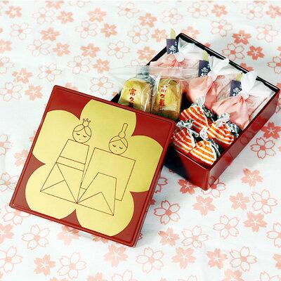 期間限定【ひなまつり特別アイテム】一ヶ重ひなまつり和菓子セット〜ひな祭り、桃の節句のお祝いに〜
