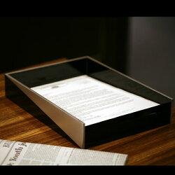 男性の方への贈り物にも…書類入れ縁錫蒔絵