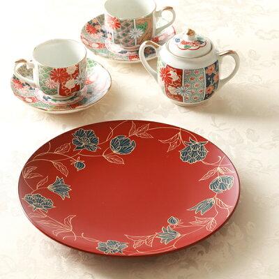 母の日に贈りたい花以外のプレゼント「平安堂 丸皿」