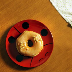 丸皿(小)てんとう虫