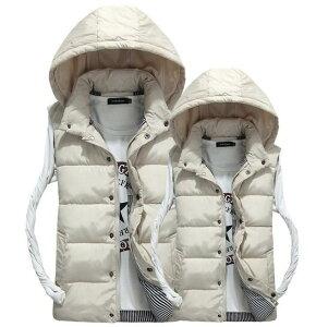 ダウンベスト メンズ 暖かいベスト カップルベスト ストライプ柄裏地 中綿いりベスト 大きいサイズ ダウンベスト ミリタリージャケット アウター