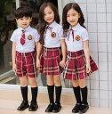 子供スーツセット フォーマルイギリス風 中小生 幼稚園 キッ...