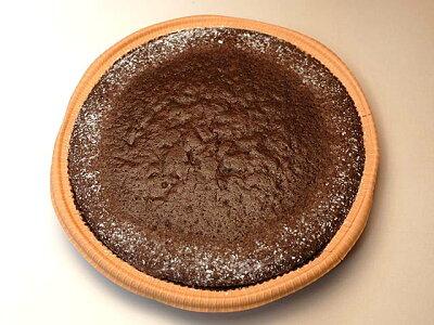 くるみ入りチョコレートケーキ