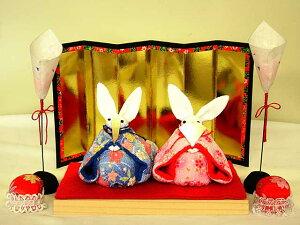 ウサギの雛人形セット
