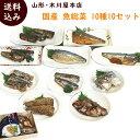 山形 木川屋本店 国産魚総菜10種10袋セット (さんまの佃