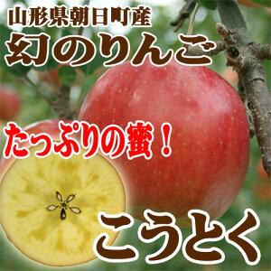 幻のりんごは蜜がたっぷり!早冬の特別な樹上完熟りんごふじりんごを越えた味は小玉でも食べ応...