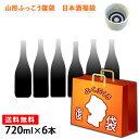 ふっこう 復袋TM 山形 地酒 日本酒 大吟醸入 訳あり福袋 720ml 6本セット おつまみ おま...
