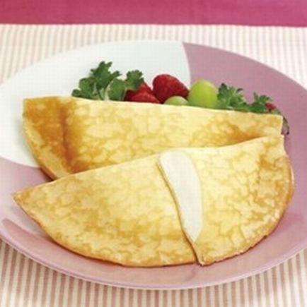【学校給食】【日東ベスト】【冷凍食品】【学校給食】クレープ(チーズクリーム)X80個