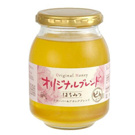 ブレンド蜂蜜(ハチミツ)「オリジナルブレンド・ピュアハニー470g」