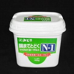 プロバイオティクス乳酸菌 九州乳業 『N-1 腸まで届くマイルドヨーグルト』400g