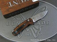 BENCHMADE/ベンチメイドハント#15031-2NorthForkノースフォークアクシスフォルダー/ディモンド・ウッド2