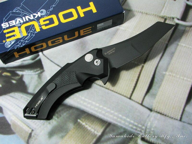 Hogue/ホーグ #34569 X5/3.5インチ,ブラックブレード,ワーンクリフ,G10インレイ フォールディングナイフ
