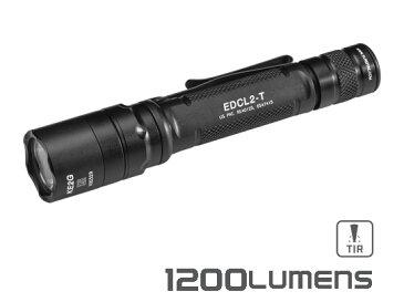 SUREFIRE/シュアファイア EDCL2-T デュアル アウトプット LED フラッシュライト 1200ルーメン