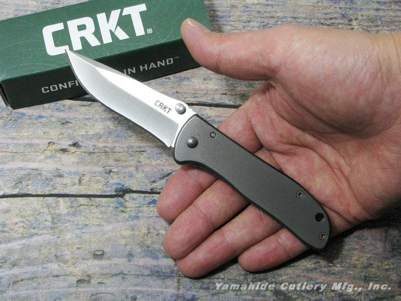 CRKT 6450S ドリフター ステンレス 折り畳みナイフ,コロンビアリバーナイフ&ツール Drifter Stainless画像
