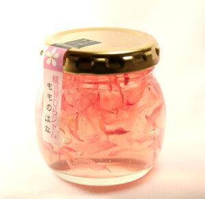 無農薬の桃の花が舞う幻想的なジャム~ほのかに香る桃のかおり桃の花びらジャム南アルプスの手...