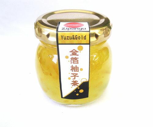 金箔柚子茶(金箔入り柚子ジャム)英国のマーマレードフェスティバルで金賞受賞!!南アルプスの手作りジャム