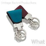 《全5色》key clip oil leather キークリップ イタリアンオイル マグネット式キーホルダー Vintage Revival Productions 【デザイン雑貨 皮革 レザー 収納 オイルレザー ステーショナリー】