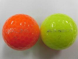 【Aランク】KIRALINE(キラライン)オレンジ/イエロー1球【マーク・ネーム無】【中古】ロストボール