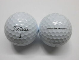 【Sランク】タイトリストPROV12019モデル1球【マーク・ネーム無】【中古】ロストボールゴルフボールプロV1