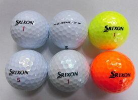 【Sランク】SRIXON2019モデルZ-STARXV1球【マーク・ネーム無】【中古】ロストボールゴルフボールスリクソンゼットスターエックスブイ