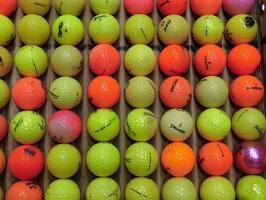 【中古】カラーロストボール100球¥864ゴルフボール