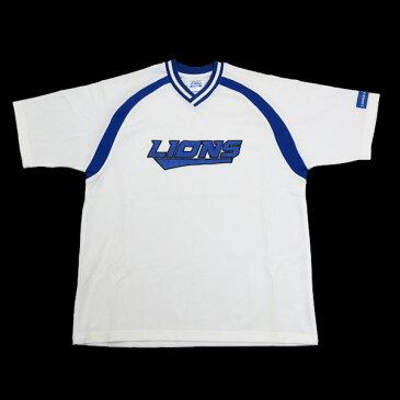 西武ライオンズ/SEIBU LIONS FANCLUB ユニフォームシャツ【L】★白/応援グッズ/W124【中古】