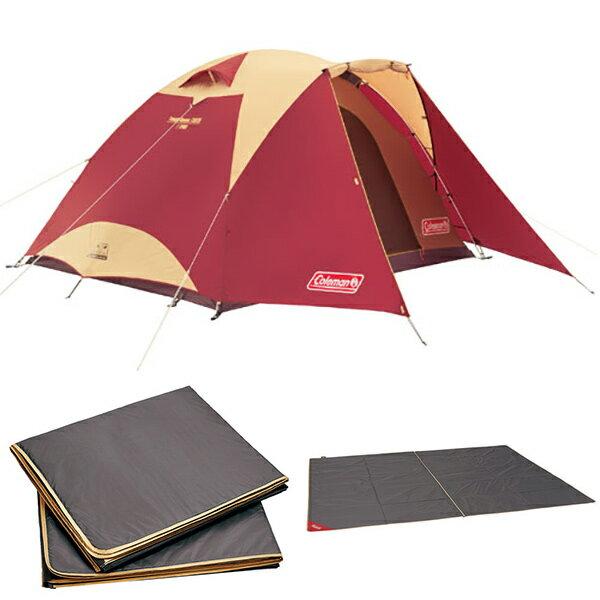 Coleman(コールマン) タフドーム /3025 スタートパッケージ (バーガンディ) 2000027280四人用(4人用) キャンプテント タープ テント キャンプ用テント キャンプ4 アウトドアギア