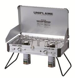 【送料無料】UNIFLAME(ユニフレーム)ツインバーナーUS-1900610305ツーバーナーコンロストーブツーバーナーストーブストーブガスアウトドアギア