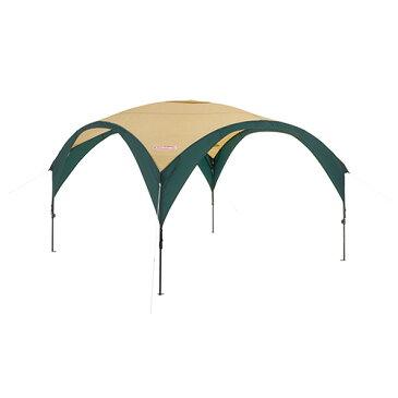 Coleman コールマン パーティーシェードDX/300 グリーン/ベージュ 2000033122アウトドアギア ヘキサ・ウイング型タープ テント