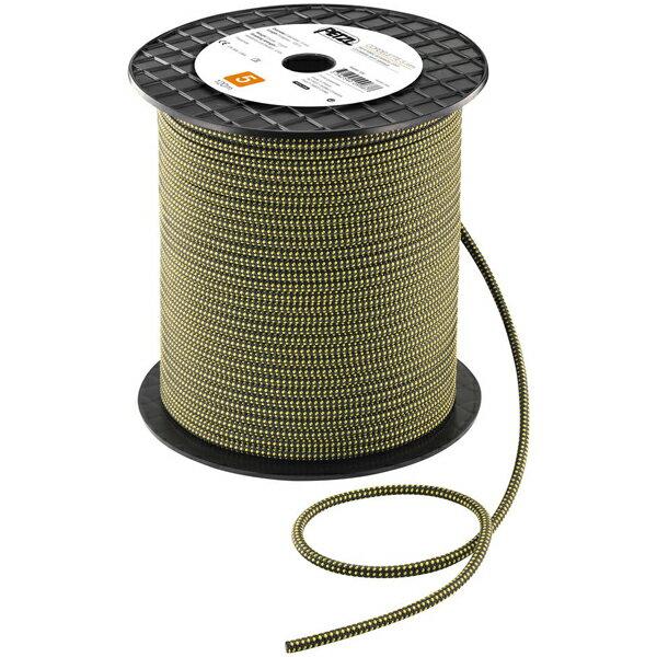 PETZL ペツル アクセサリーコード 5mm 120m/yellow/black/120 R45AY120