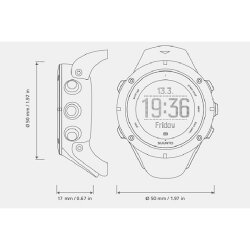 SUUNTO(スント)正規品・2年保証AMBIT3PEAKHRSAPPHIRE(SS020673000)[0026_SS020673000]アウトドア時計アウトドア精密機器クライミング用品登山キャンプ旅行用品釣り腕時計男女兼用高機能ウォッチ時計時計・光学機器アウトドアギア
