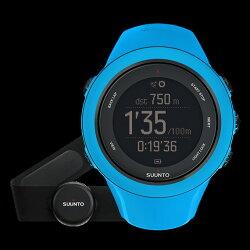【送料無料】SUUNTO(スント)正規品・2年保証AMBIT3SPORTHRBLUE(アンビット3スポーツエイチアールブルー)SS020679000男女兼用腕時計腕時計時計高機能ウォッチアウトドアギア