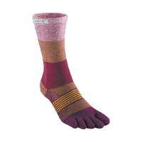 injinji インジンジ Ws トレイルMWクルー /ポメグラネイト XS/S 213171アウトドアウェア 女性用ソックス ソックス レディースウェア 靴下 レッド 女性用