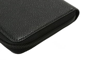 【未使用品】CHANELシャネルA50071ココマークラウンドファスナー長財布ブラック
