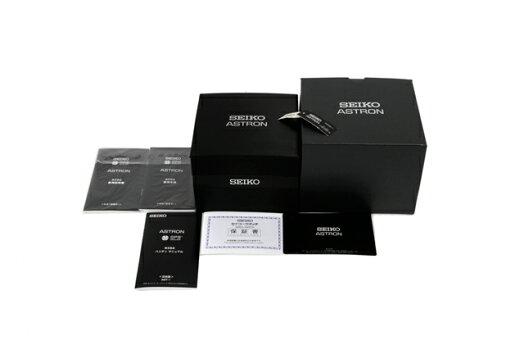 【美品】SEIKOセイコーSBXB011アストロンステンレススチールxセラミックスGPSソーラー黒文字盤【中古】