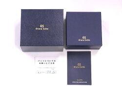 【美品】SEIKOセイコーSBGV015グランドセイコーSS黒文字盤クォーツ【中古】