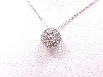 【新品同様】VANDOMEAOYAMAヴァンドーム青山ダイヤモンド0.36ctレヨンセーズネックレスAPVN177043DI【中古】