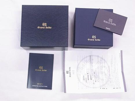 【美品】SEIKOセイコーSBGV021グランドセイコーSSシルバー文字盤クォーツ【中古】