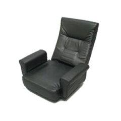 武田コーポレーション 回転座椅子 BK(ブラック) KZ-125BK