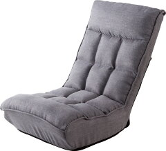 武田コーポレーション ポケットコイル入り シアター座椅子 GLY(グレー) YDBY-08GLY
