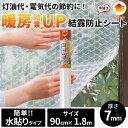 ニトムズ 窓ガラス結露防止シート 水貼り E1590