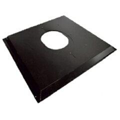 HONMA ホンマ製作所 黒 ステンレス 天井・屋根用自在眼鏡板 φ170mm用【smtb-s】 煙突部材