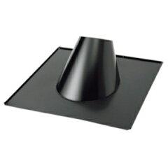 HONMA ホンマ製作所 黒 ステンレス フラッシング 5〜20° φ170mm用【smtb-s】 煙突部材