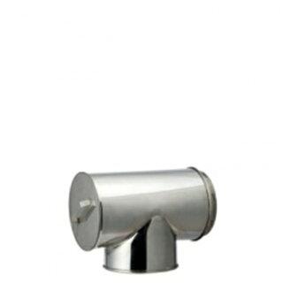 HONMAホンマ製作所ステンレス二重断熱T曲90°φ120mm用