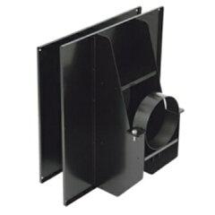 HONMA ホンマ製作所 黒耐熱 ステンレス 強化眼鏡板 φ170mm用【smtb-s】 煙突部材